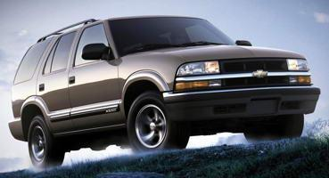 Установка ГБО на Chevrolet Blazer