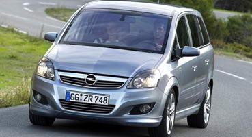 Установка ГБО на Opel Zafira