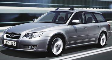 Установка ГБО на Subaru Legacy