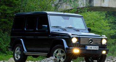 Установка ГБО на Mercedes-Benz G-Class