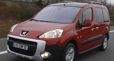 Установка ГБО на Peugeot Partner Tepee