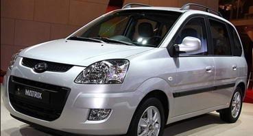 Установка ГБО на Hyundai Matrix